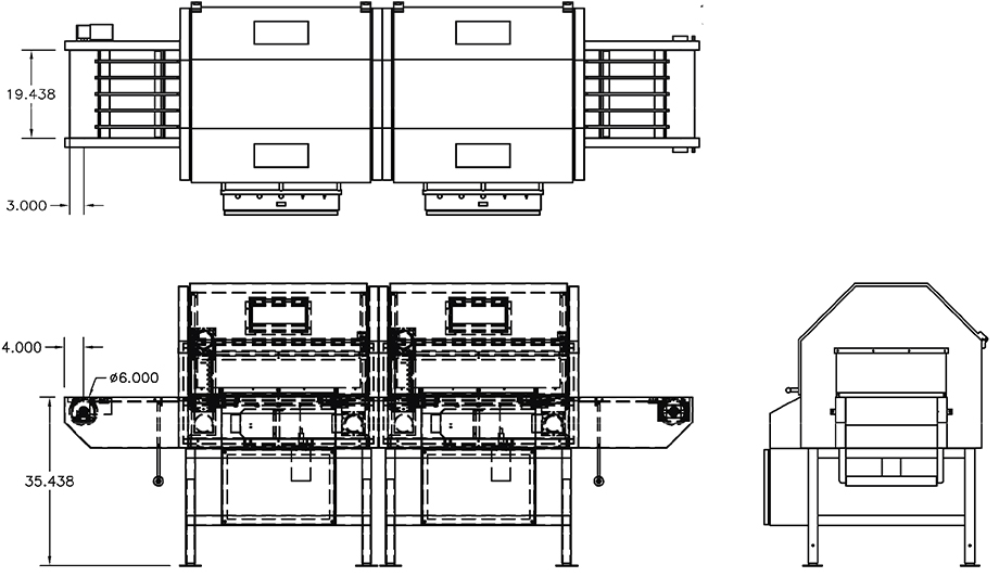 FG-5000 line drawing